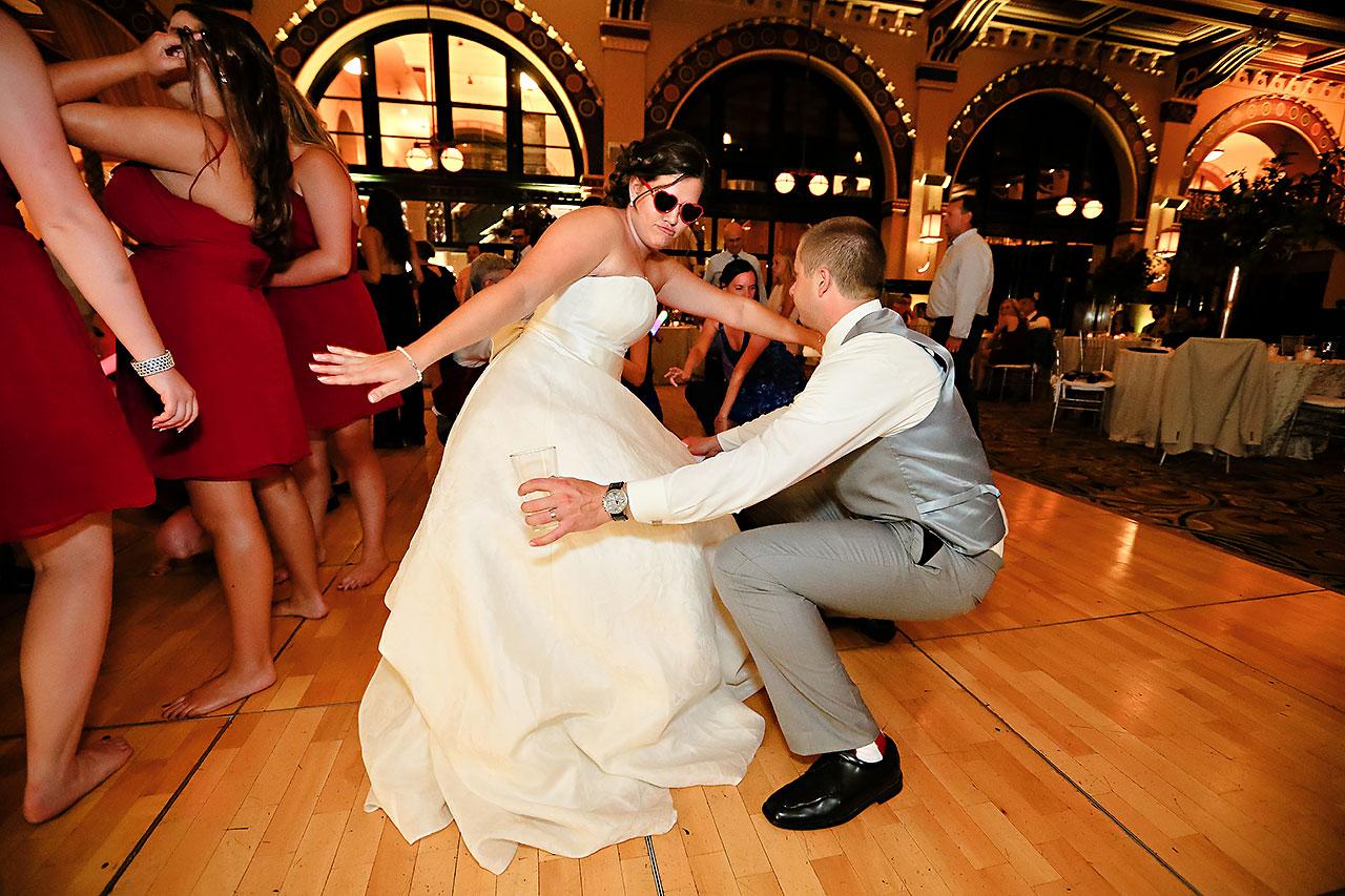 Diana Nick Crowne Plaza Indianapolis Wedding 342