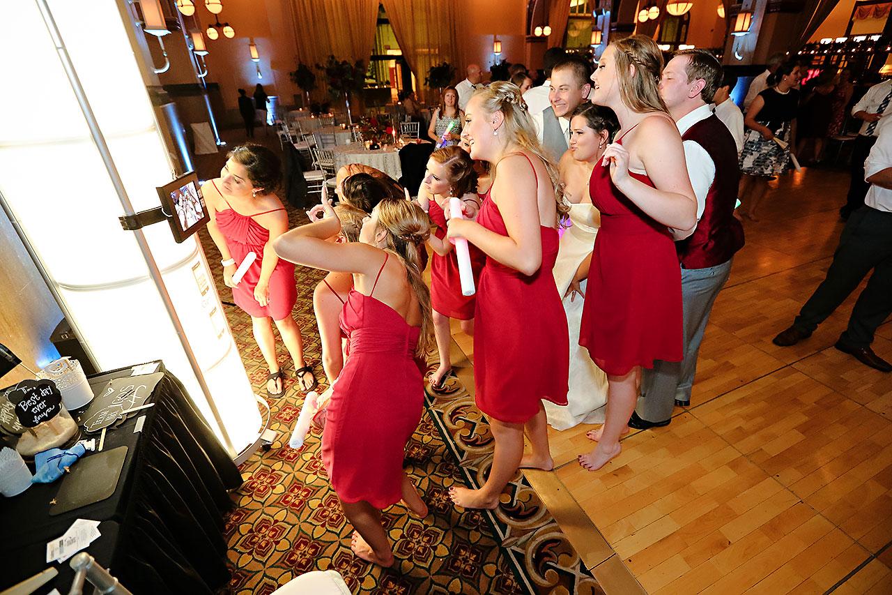 Diana Nick Crowne Plaza Indianapolis Wedding 341
