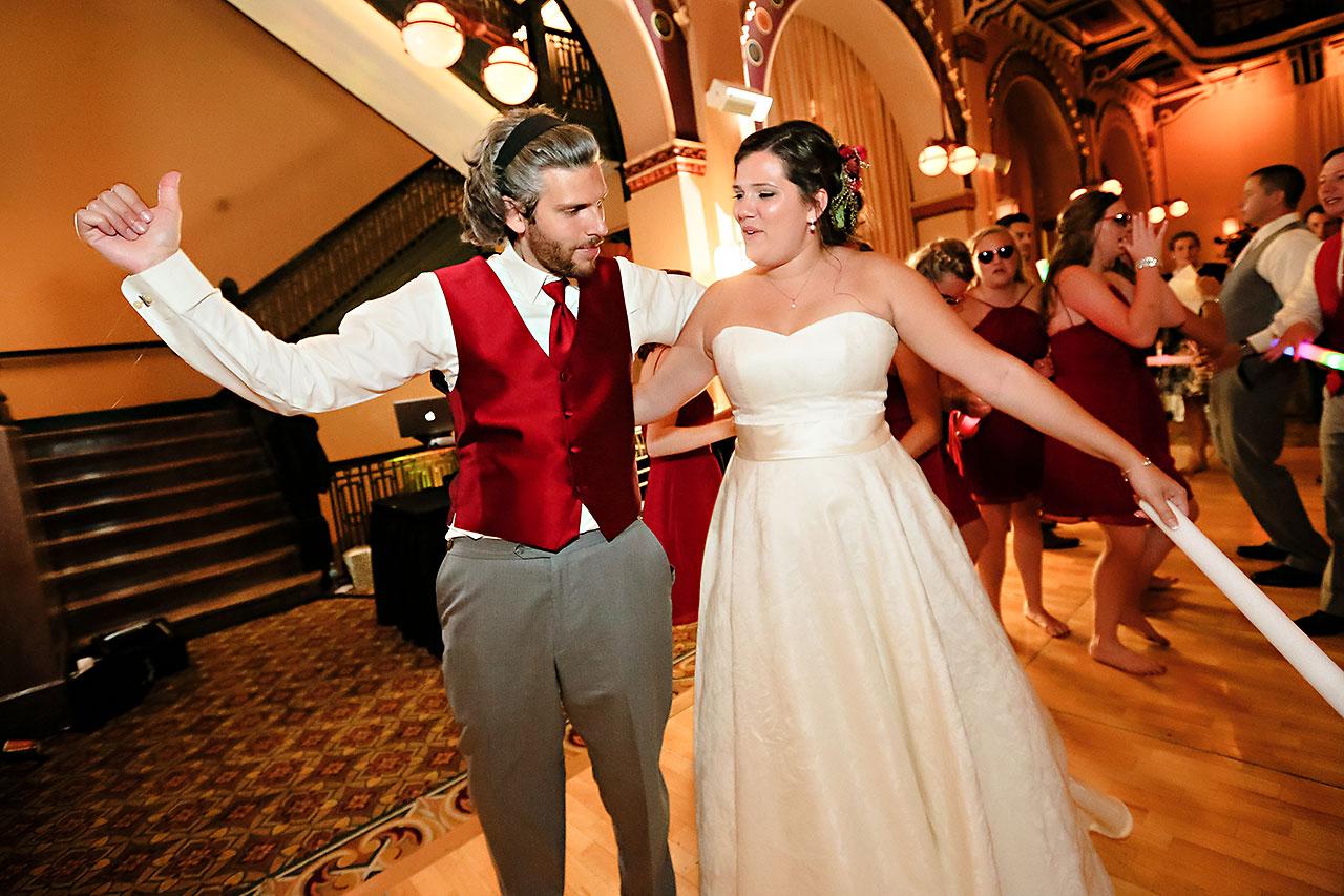 Diana Nick Crowne Plaza Indianapolis Wedding 337