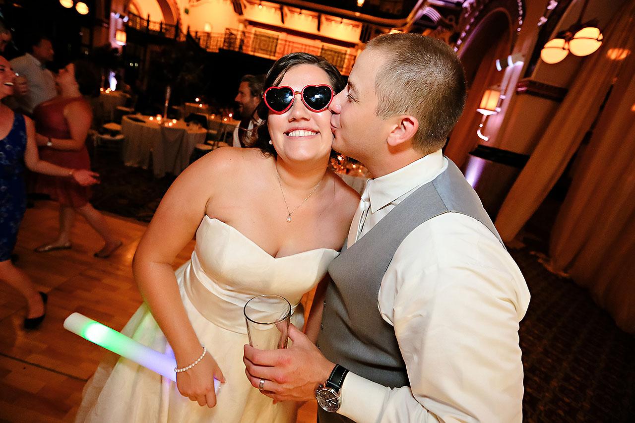 Diana Nick Crowne Plaza Indianapolis Wedding 339