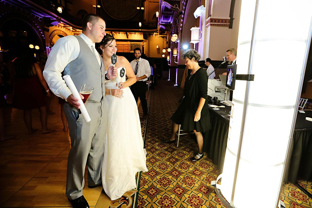 Diana Nick Crowne Plaza Indianapolis Wedding 335