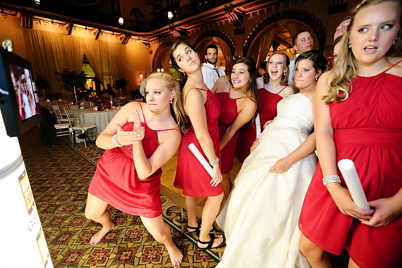 Diana Nick Crowne Plaza Indianapolis Wedding 336