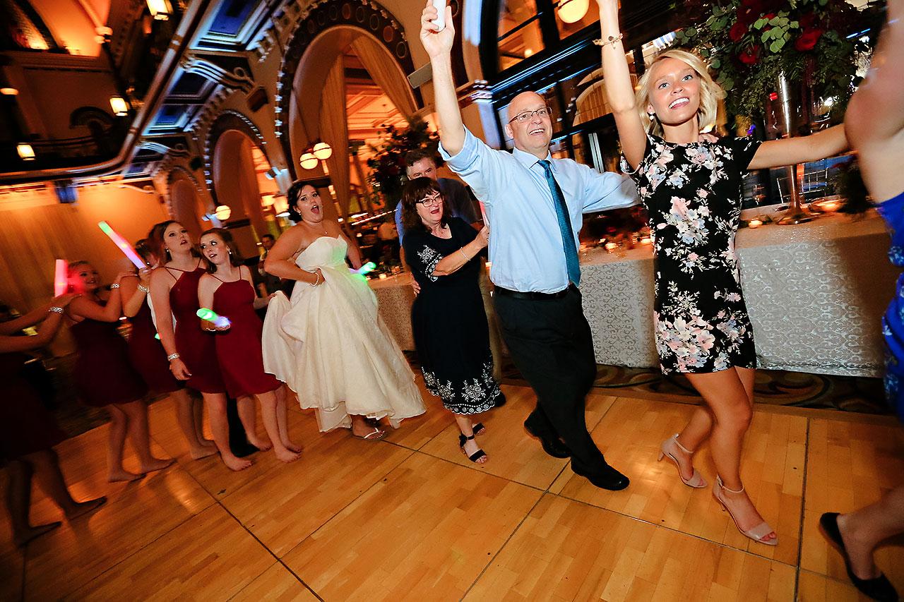 Diana Nick Crowne Plaza Indianapolis Wedding 334