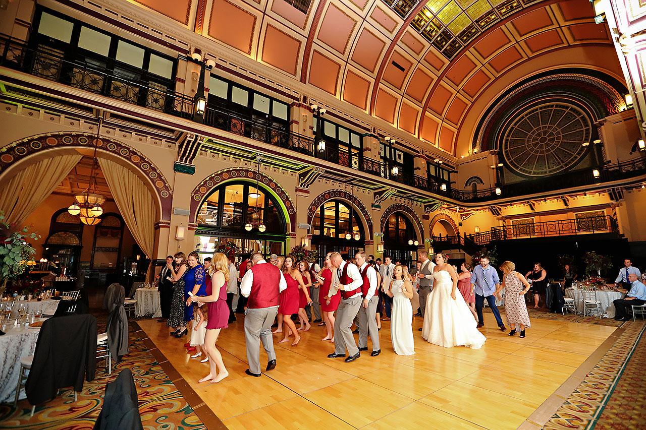 Diana Nick Crowne Plaza Indianapolis Wedding 329