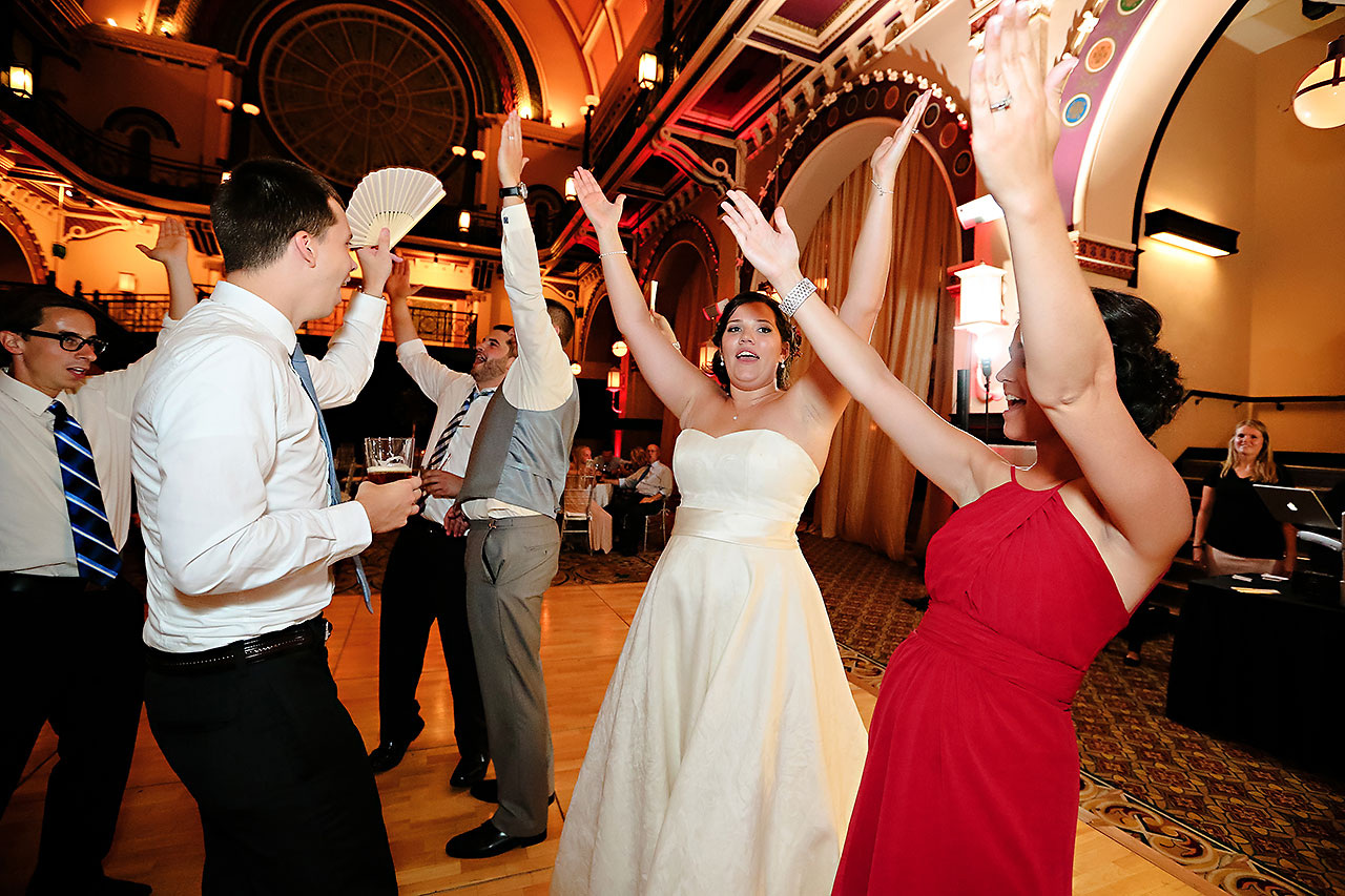 Diana Nick Crowne Plaza Indianapolis Wedding 328