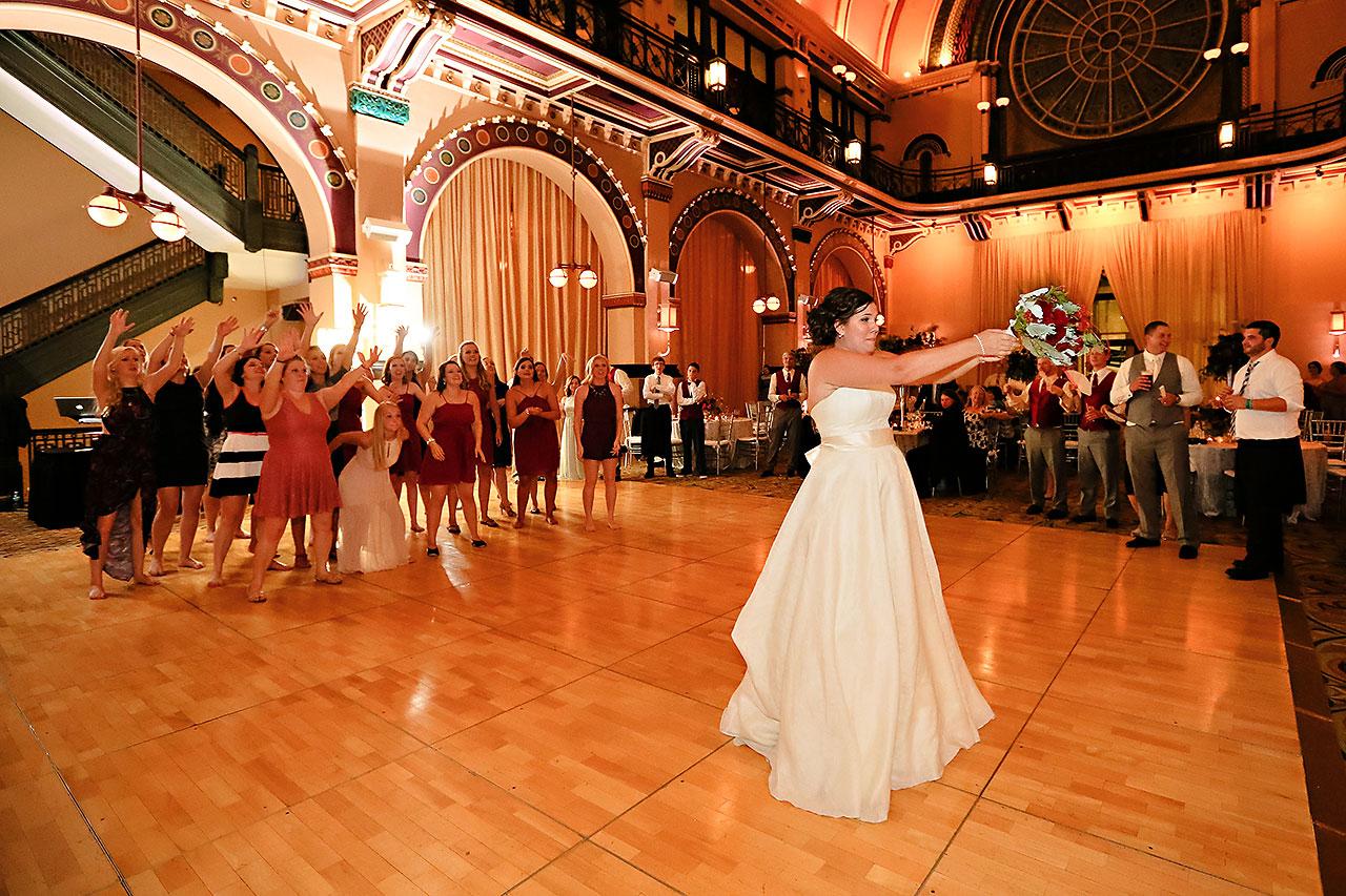 Diana Nick Crowne Plaza Indianapolis Wedding 324