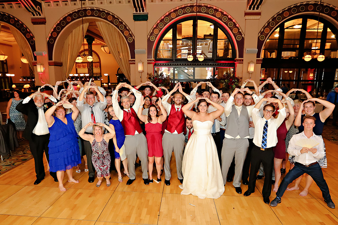 Diana Nick Crowne Plaza Indianapolis Wedding 326