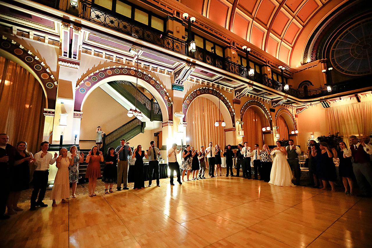Diana Nick Crowne Plaza Indianapolis Wedding 319