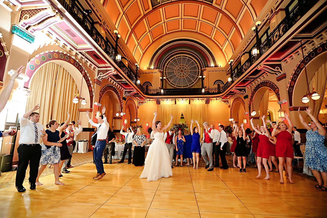 Diana Nick Crowne Plaza Indianapolis Wedding 321