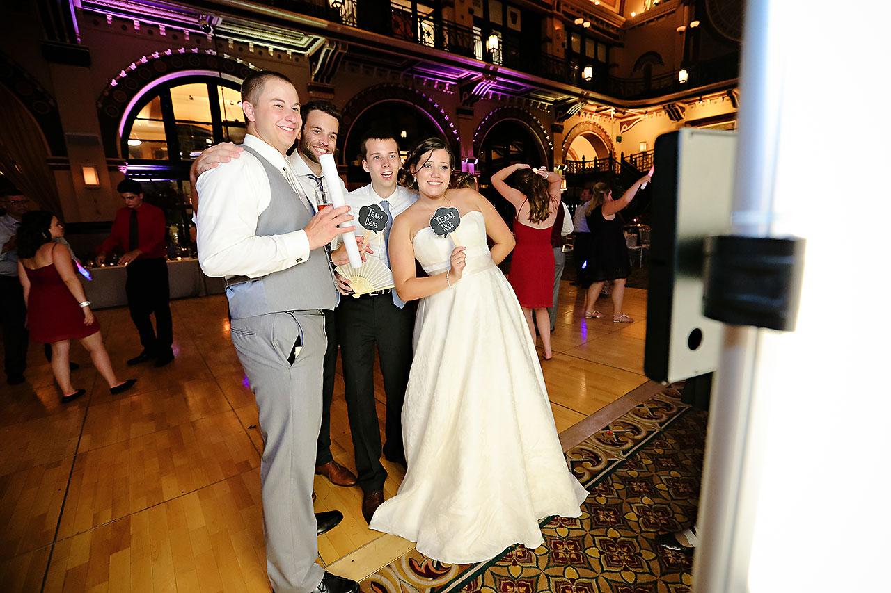 Diana Nick Crowne Plaza Indianapolis Wedding 317