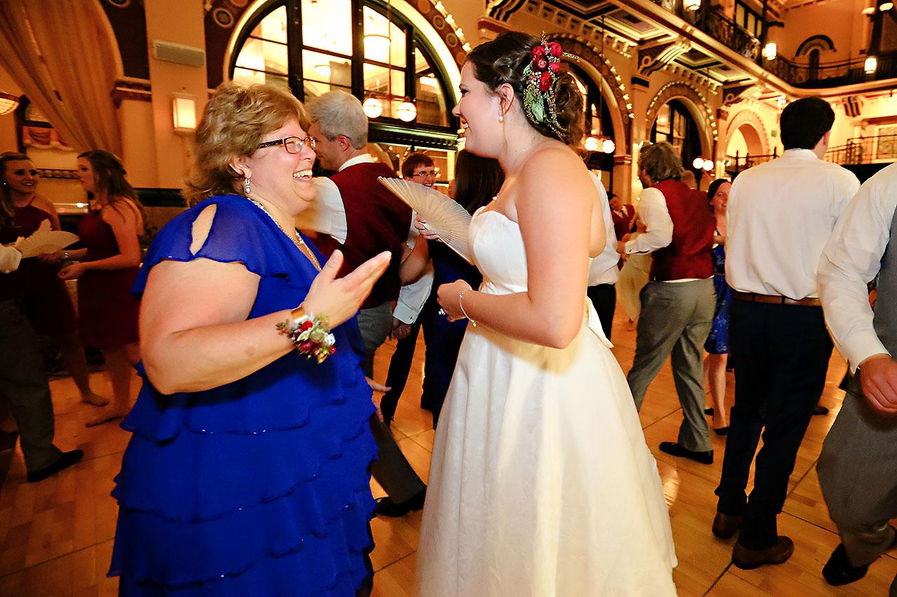 Diana Nick Crowne Plaza Indianapolis Wedding 318