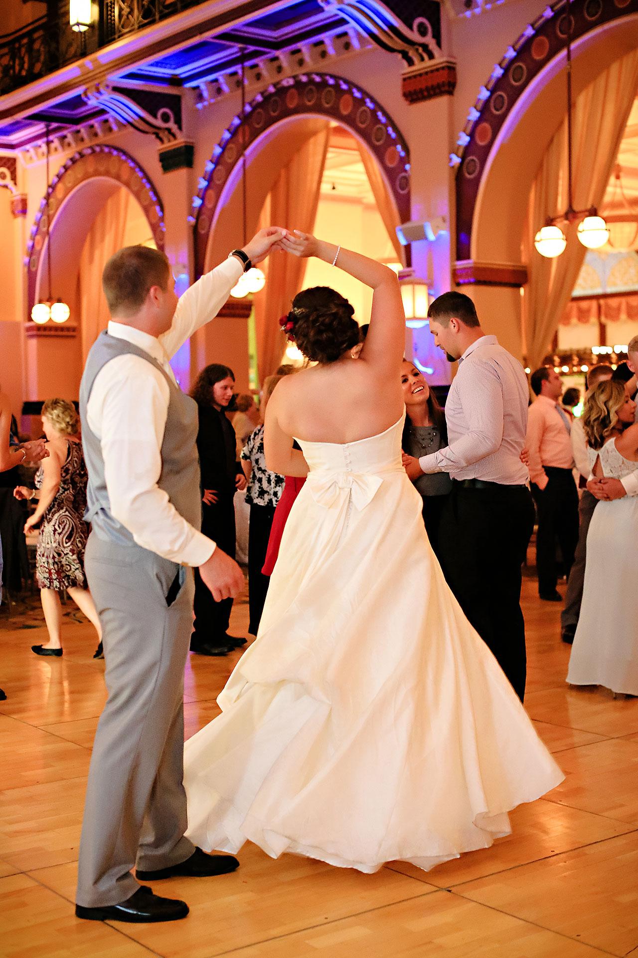 Diana Nick Crowne Plaza Indianapolis Wedding 312