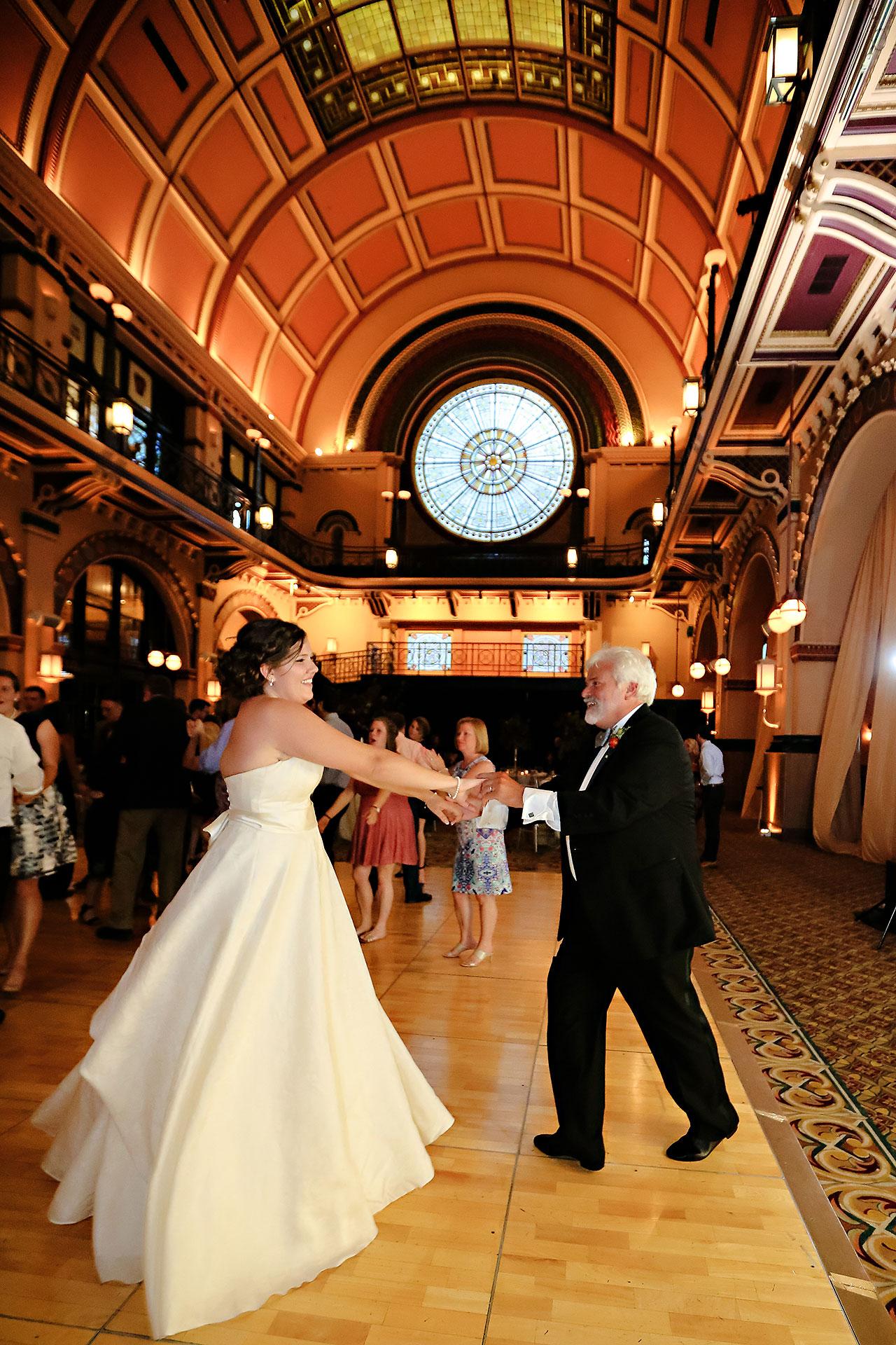 Diana Nick Crowne Plaza Indianapolis Wedding 303