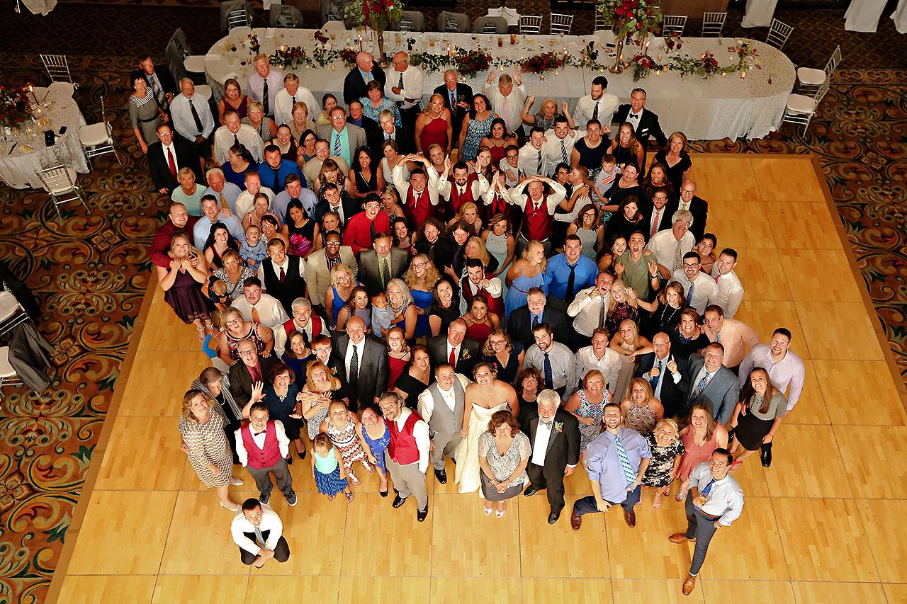 Diana Nick Crowne Plaza Indianapolis Wedding 304