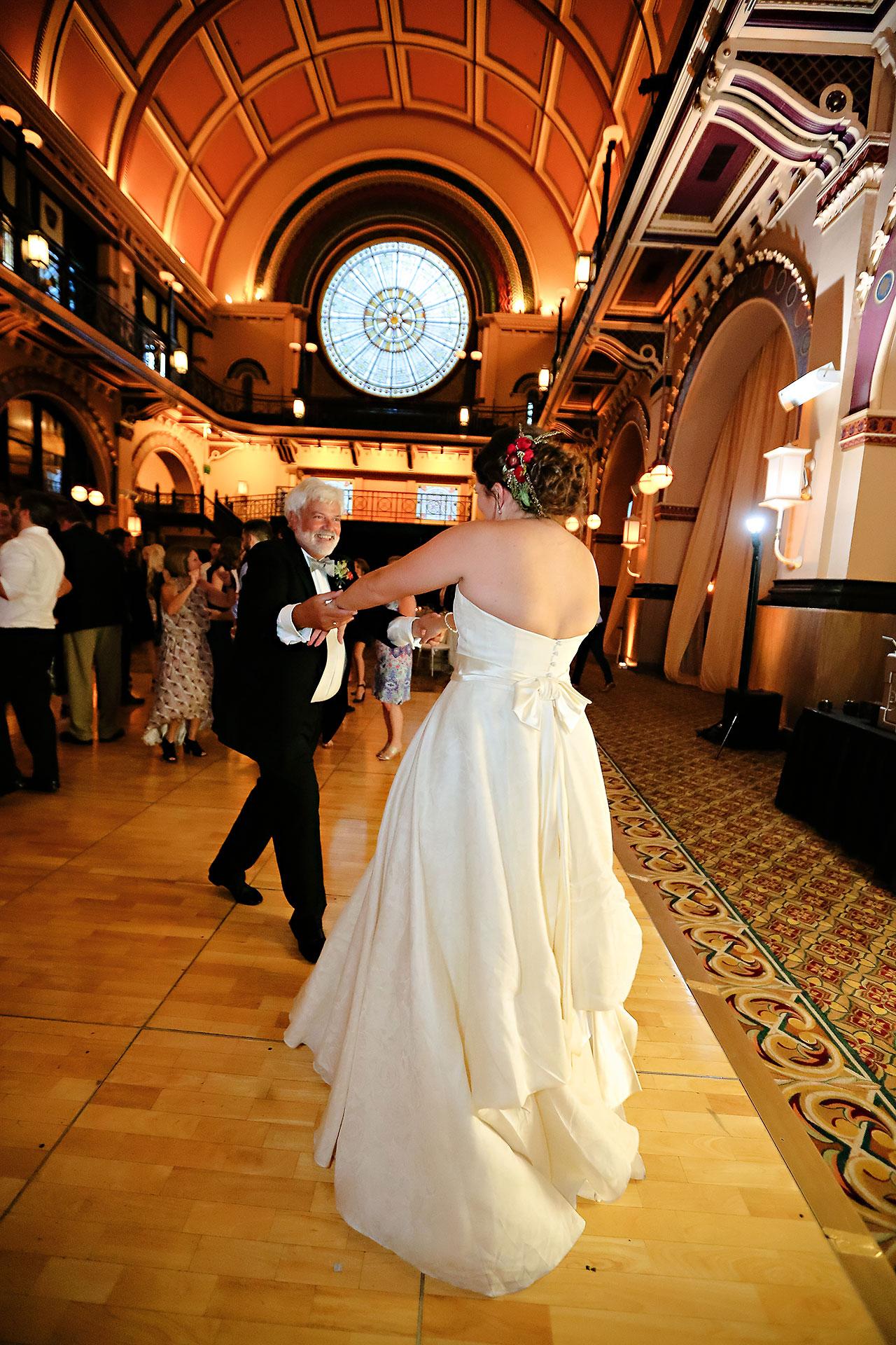 Diana Nick Crowne Plaza Indianapolis Wedding 302