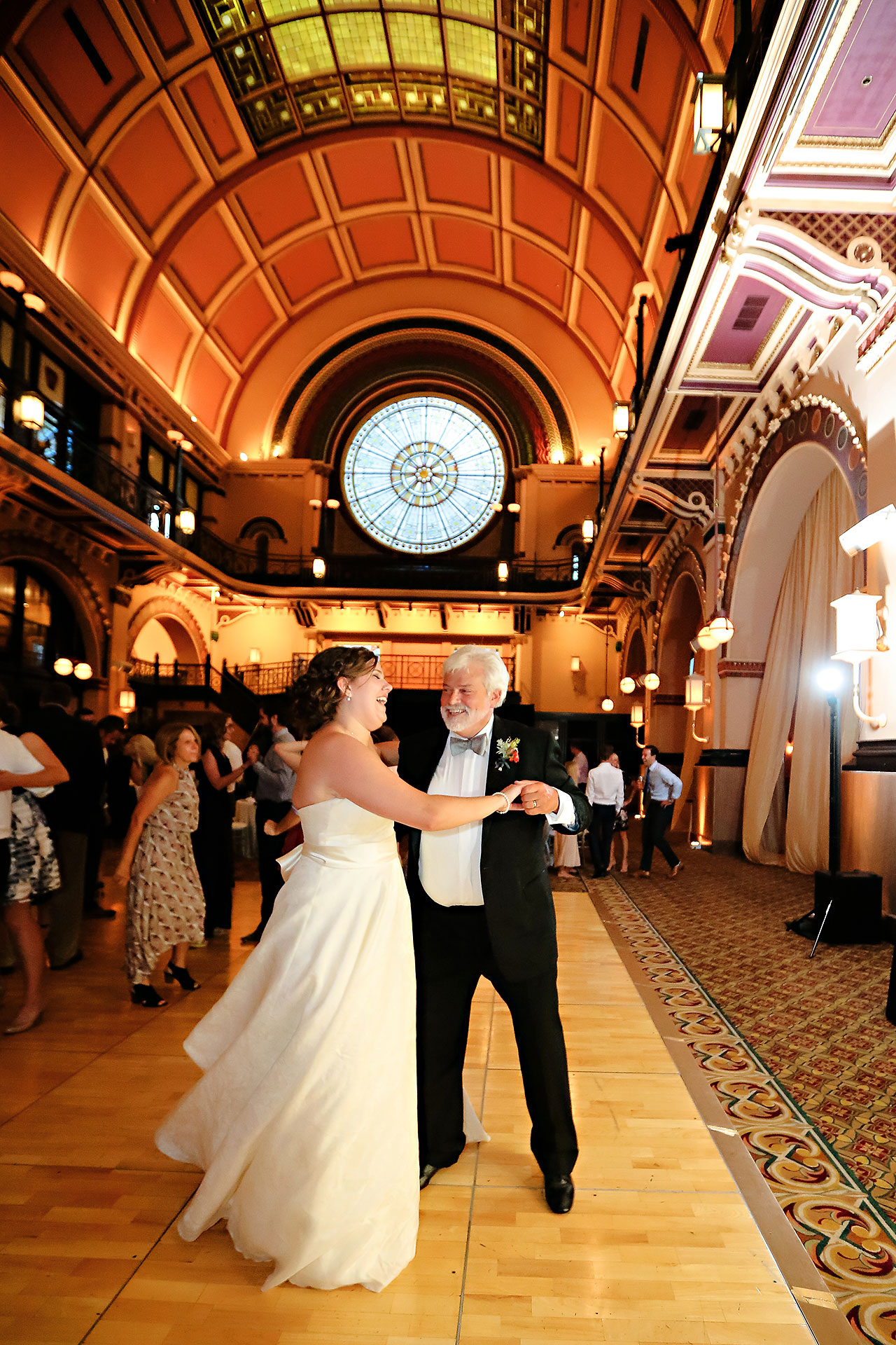 Diana Nick Crowne Plaza Indianapolis Wedding 301