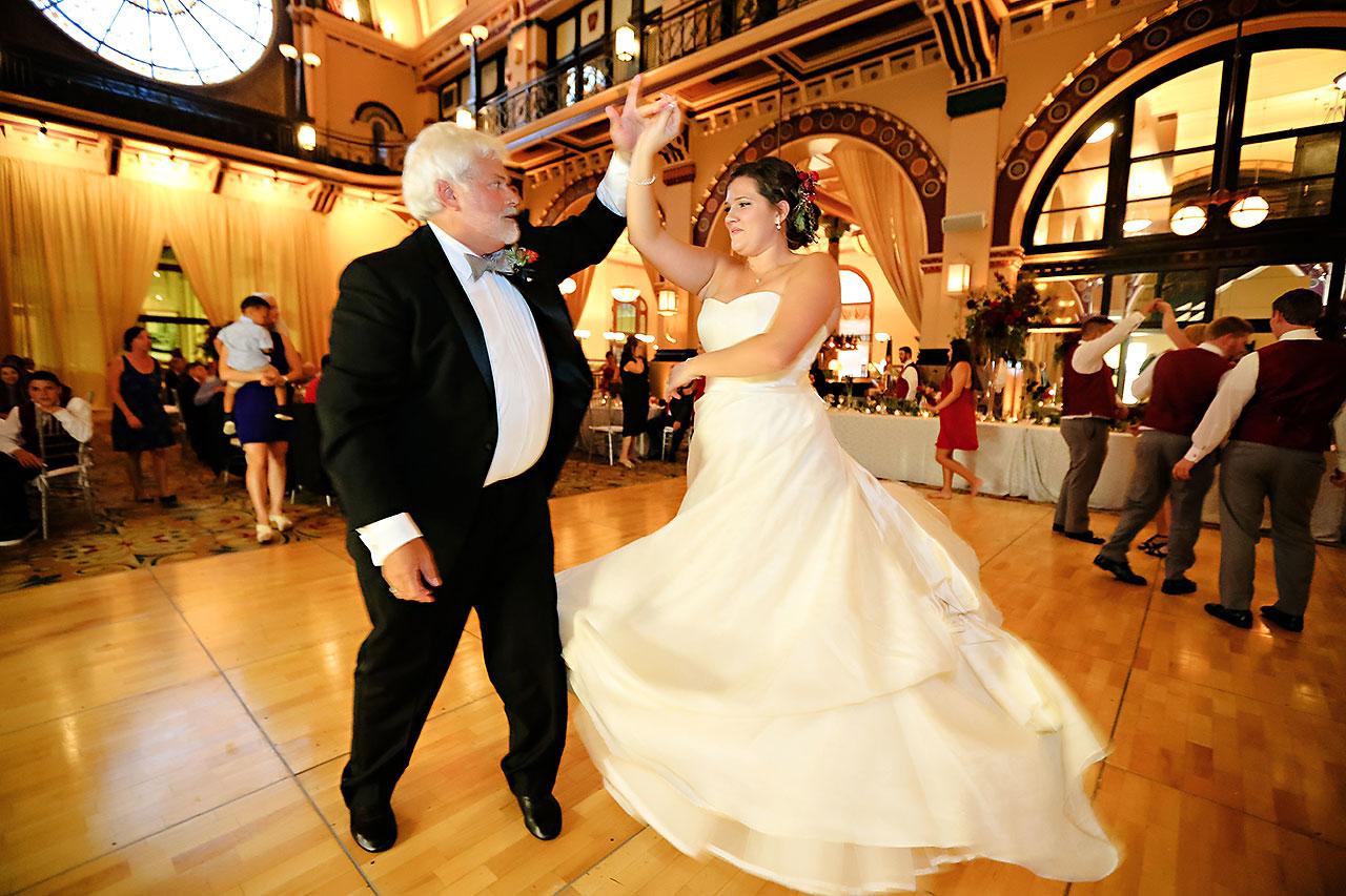 Diana Nick Crowne Plaza Indianapolis Wedding 299