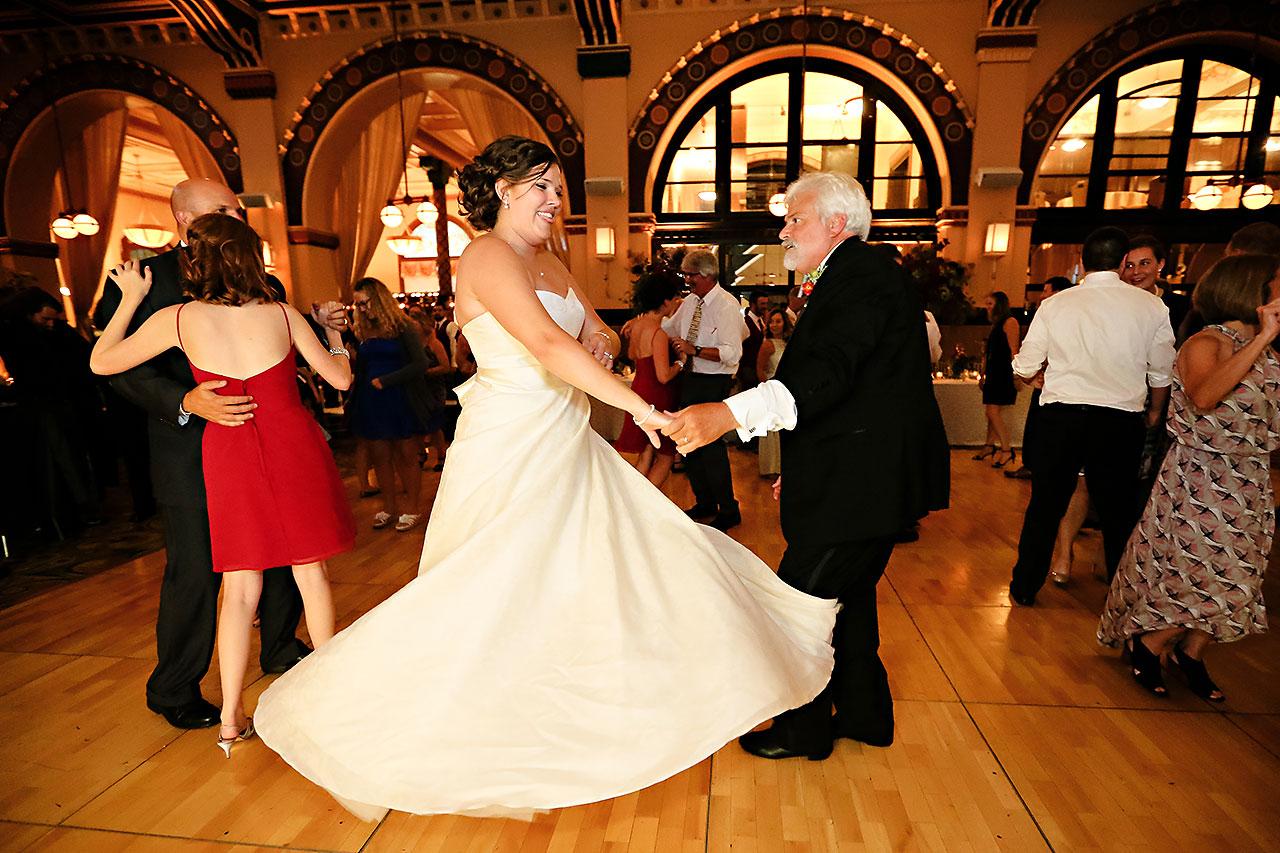 Diana Nick Crowne Plaza Indianapolis Wedding 300