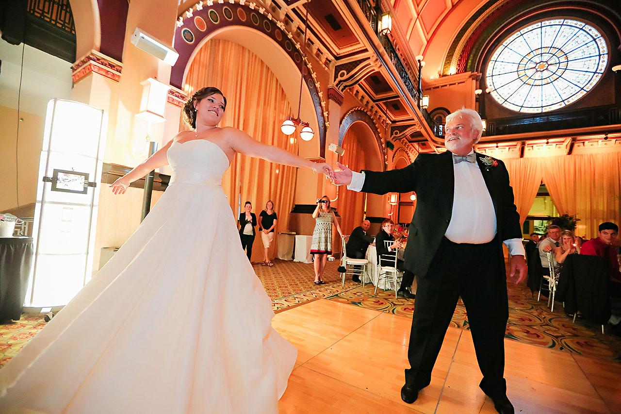 Diana Nick Crowne Plaza Indianapolis Wedding 297