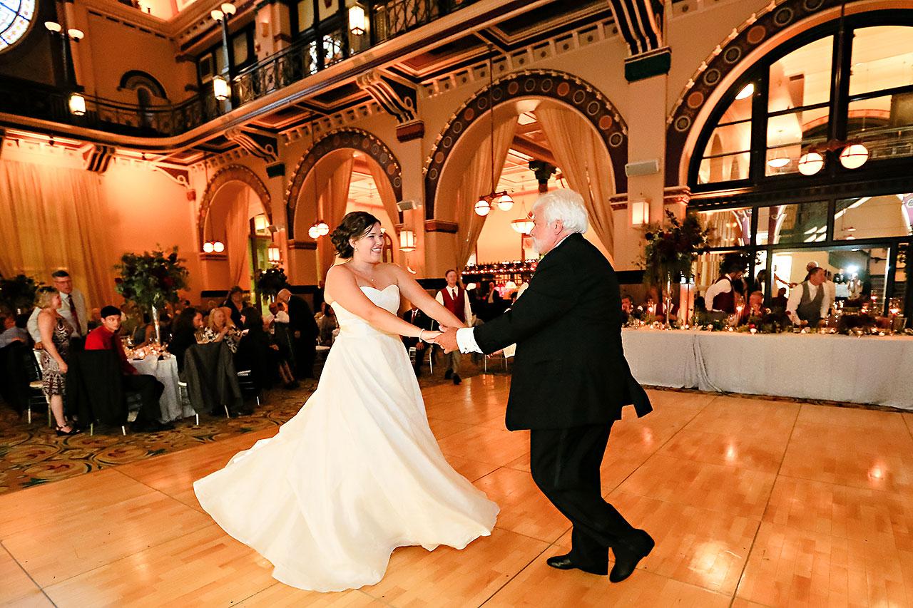 Diana Nick Crowne Plaza Indianapolis Wedding 298