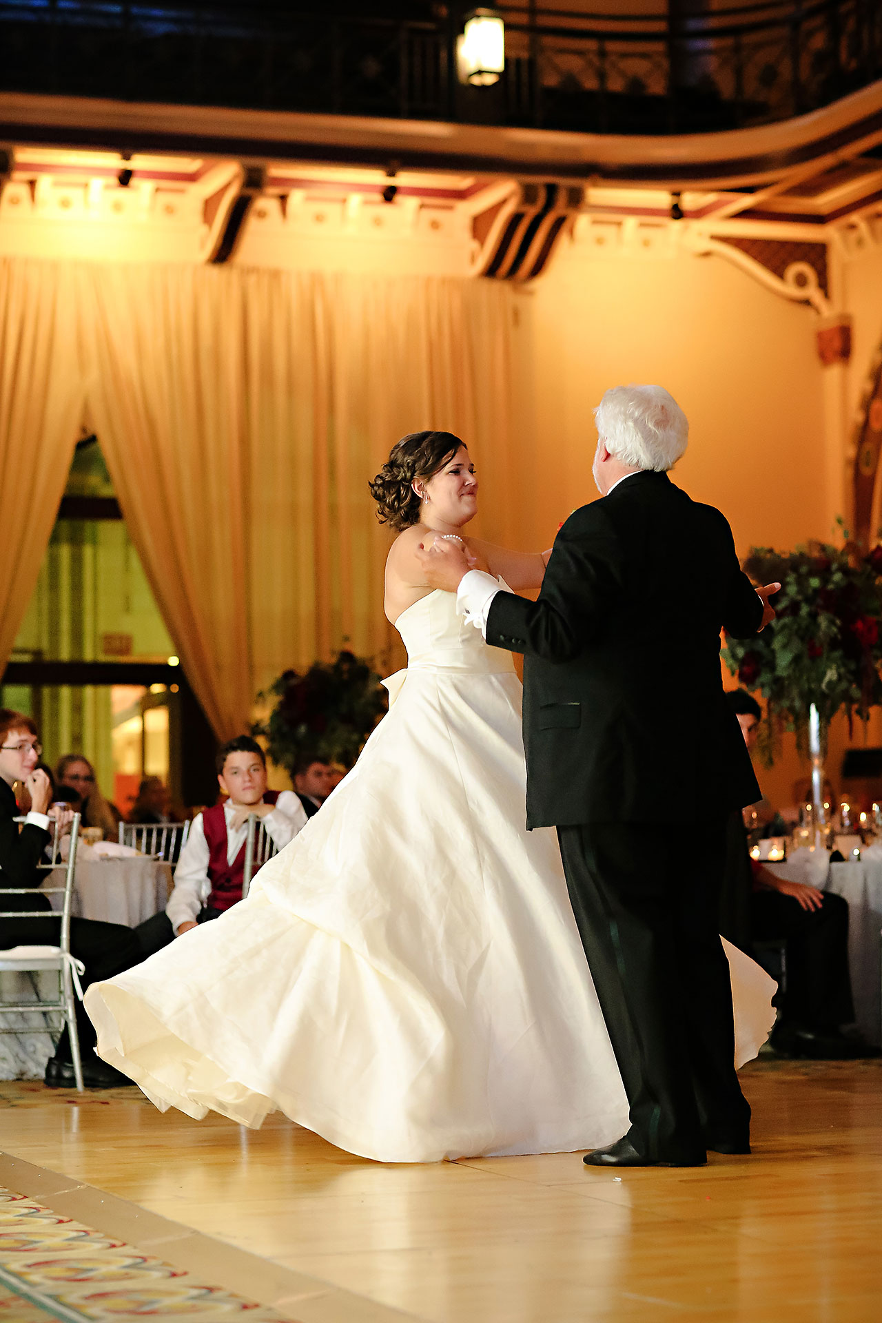 Diana Nick Crowne Plaza Indianapolis Wedding 294