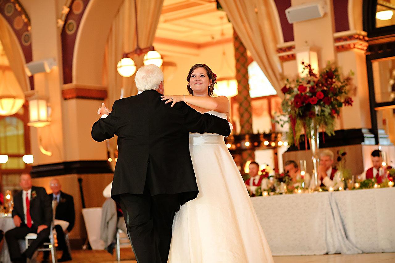 Diana Nick Crowne Plaza Indianapolis Wedding 295