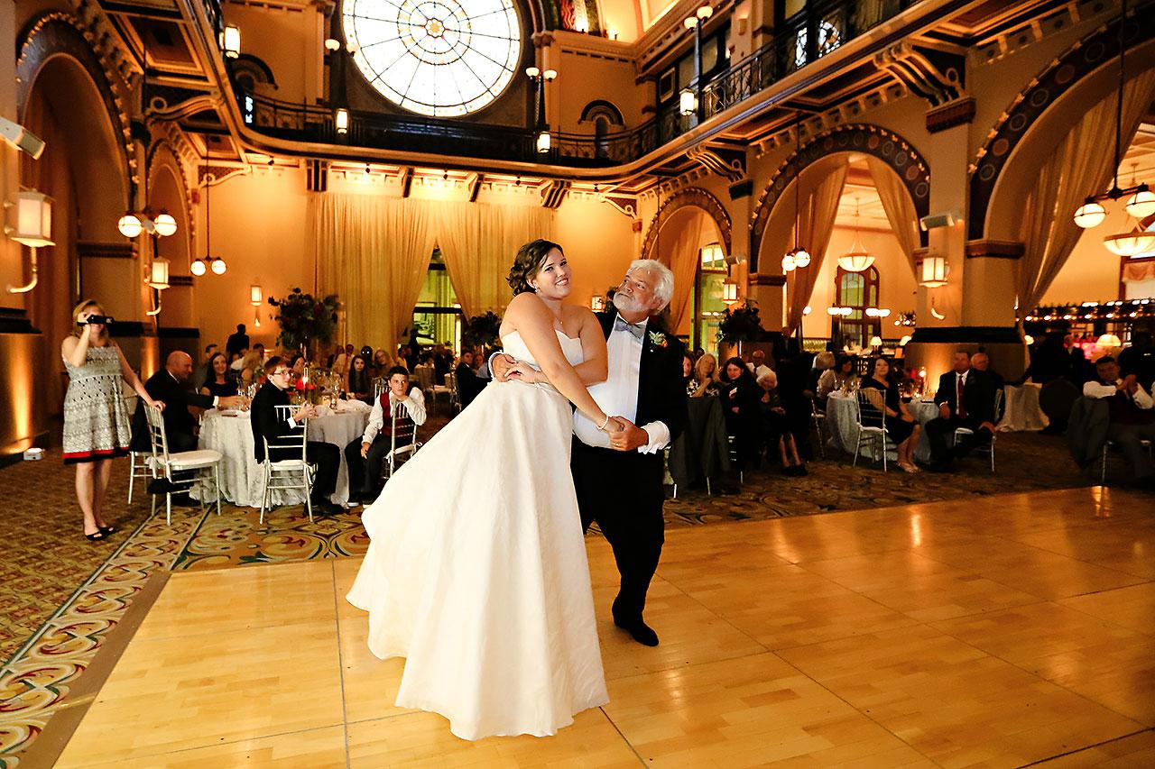 Diana Nick Crowne Plaza Indianapolis Wedding 296