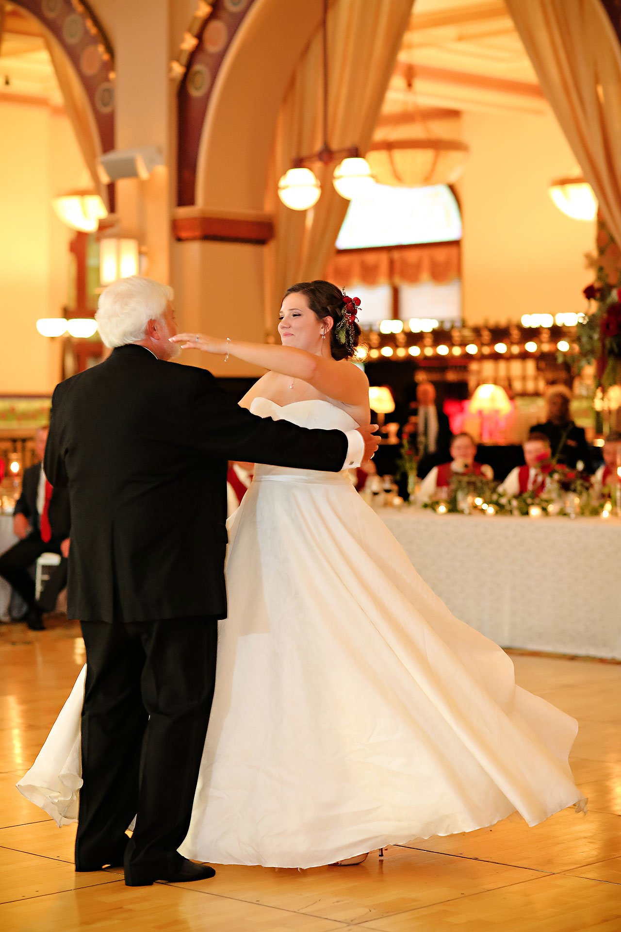 Diana Nick Crowne Plaza Indianapolis Wedding 291