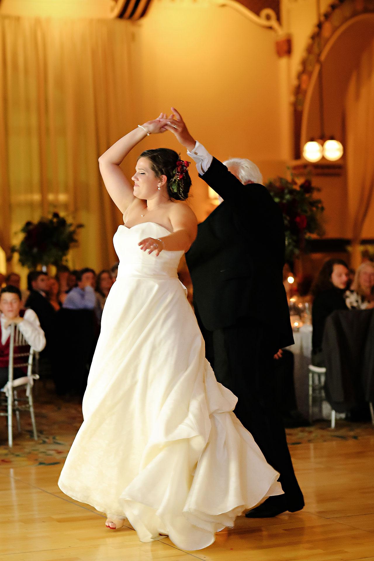 Diana Nick Crowne Plaza Indianapolis Wedding 292