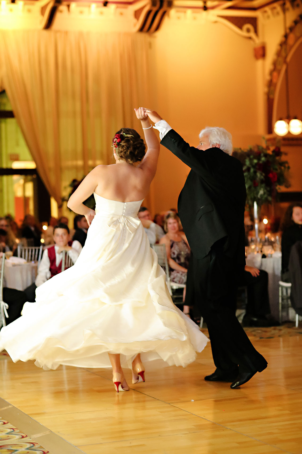 Diana Nick Crowne Plaza Indianapolis Wedding 293
