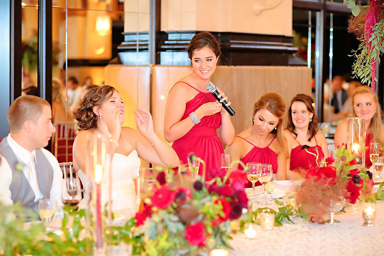 Diana Nick Crowne Plaza Indianapolis Wedding 287