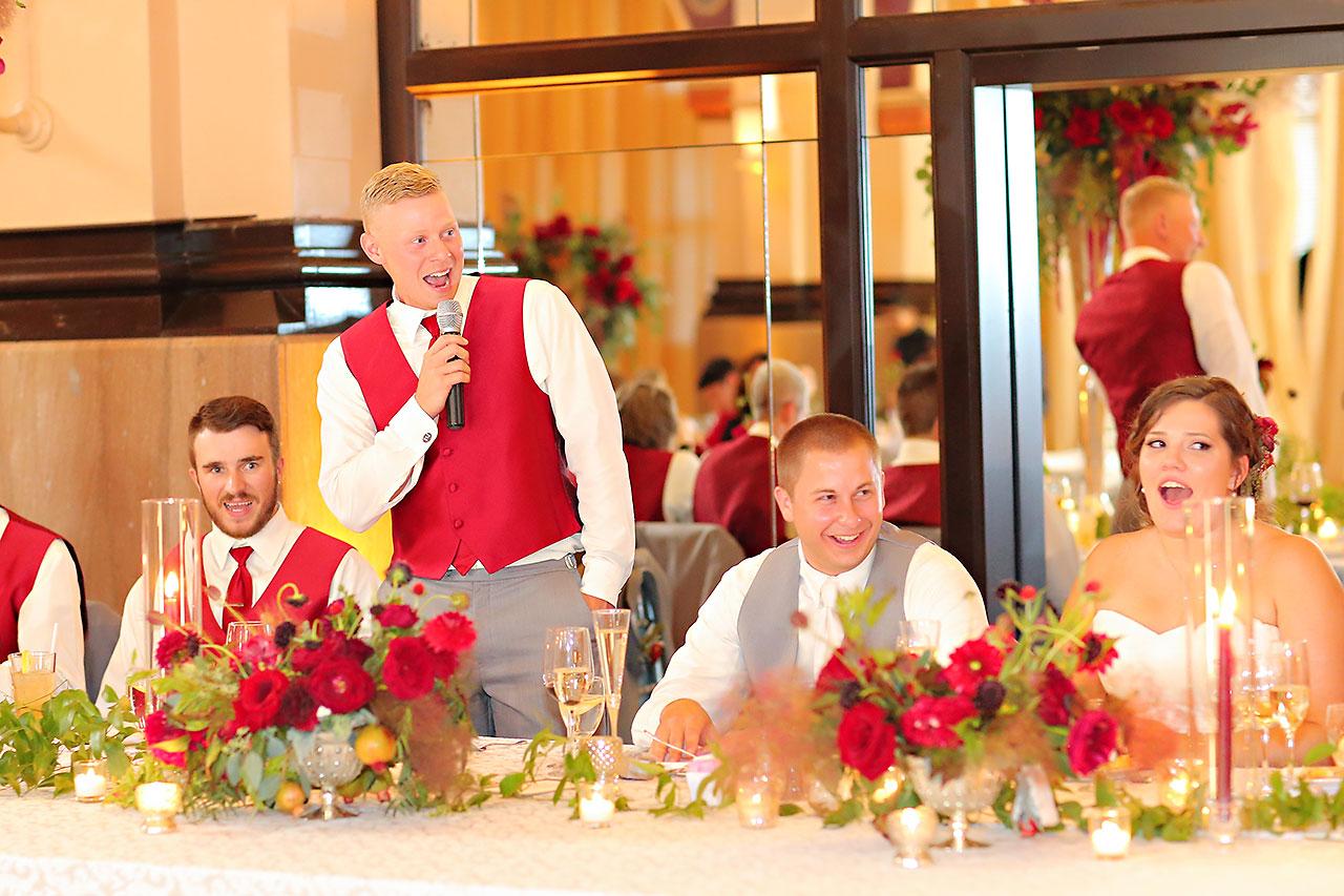Diana Nick Crowne Plaza Indianapolis Wedding 284