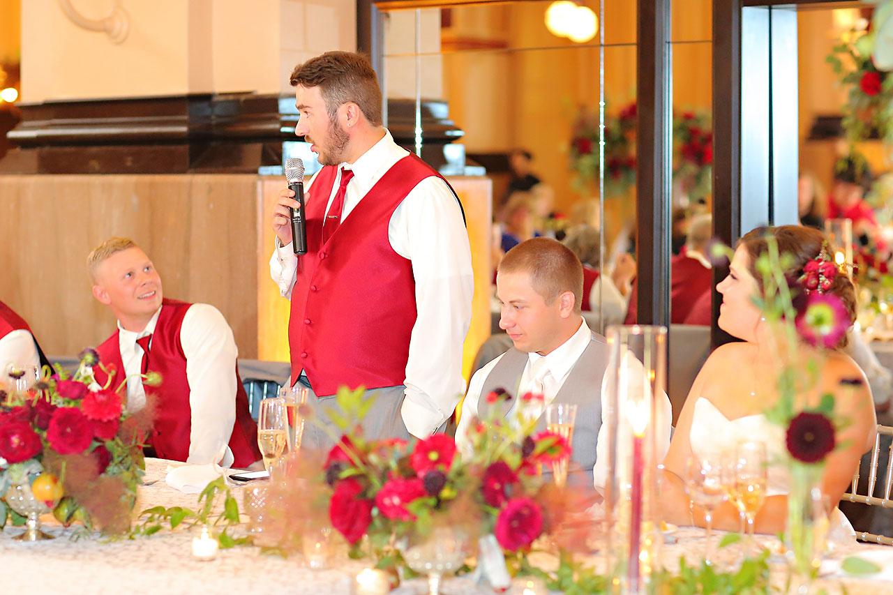 Diana Nick Crowne Plaza Indianapolis Wedding 285