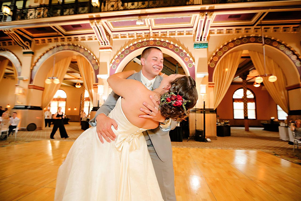 Diana Nick Crowne Plaza Indianapolis Wedding 278