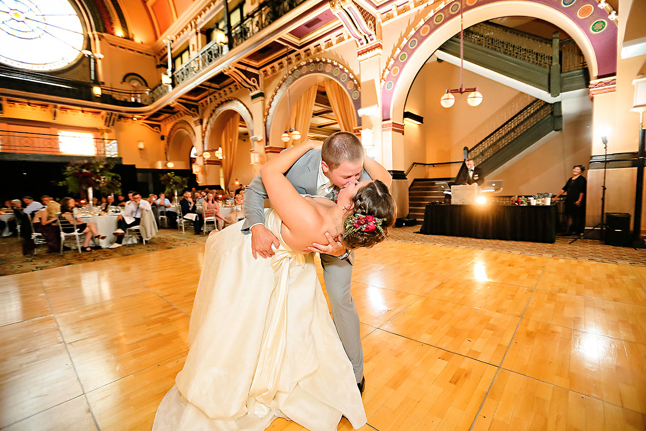 Diana Nick Crowne Plaza Indianapolis Wedding 276