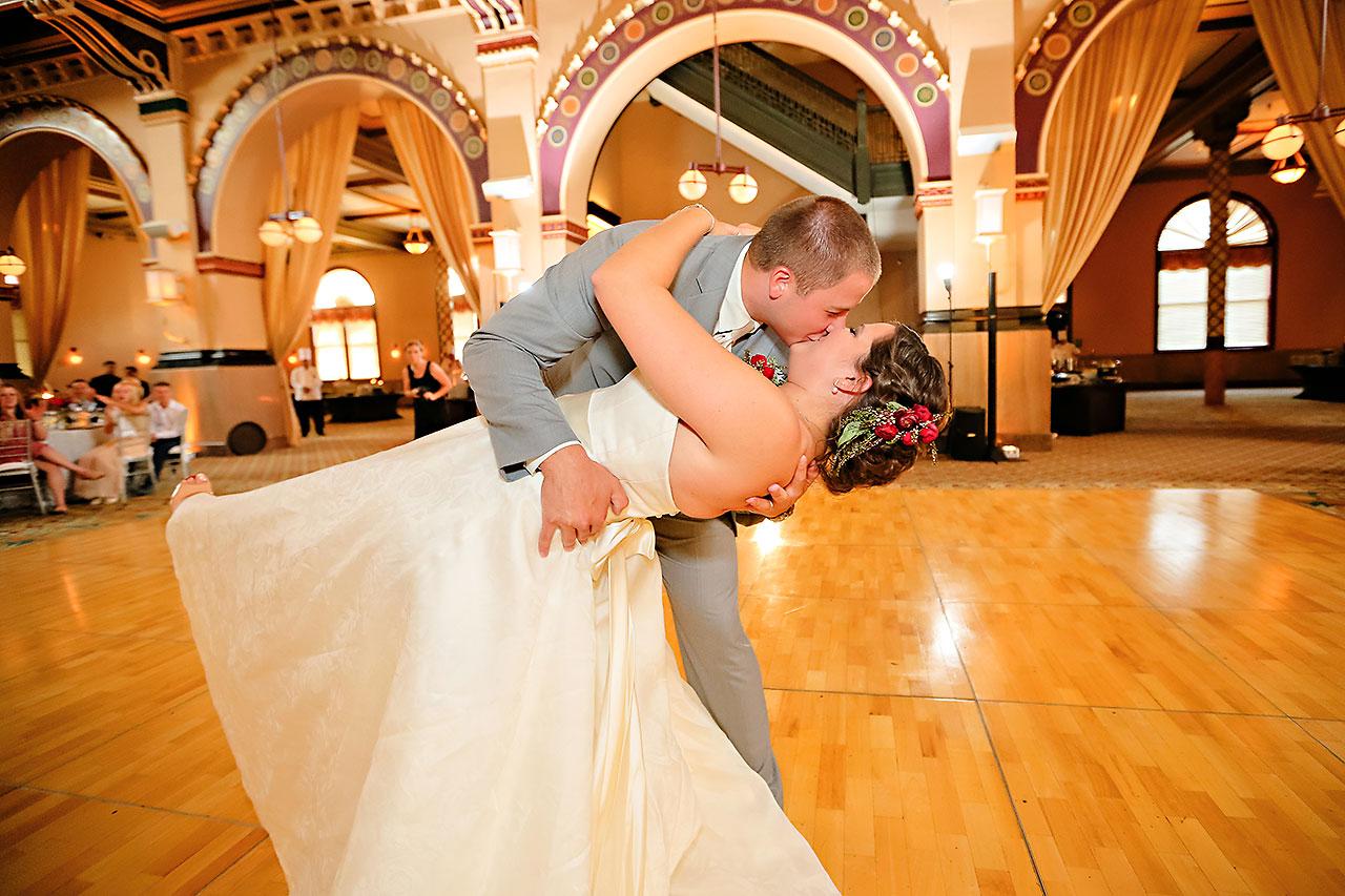 Diana Nick Crowne Plaza Indianapolis Wedding 277