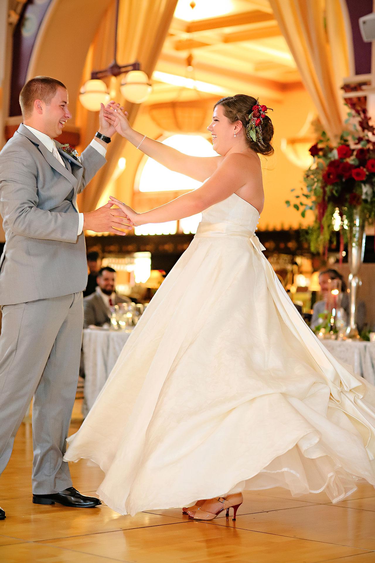 Diana Nick Crowne Plaza Indianapolis Wedding 273