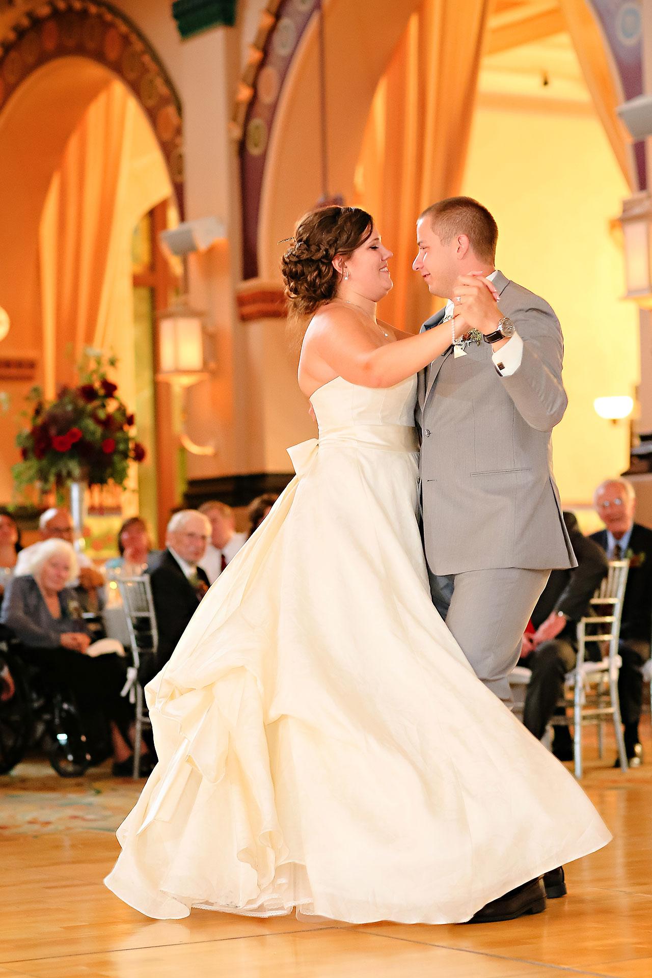 Diana Nick Crowne Plaza Indianapolis Wedding 274