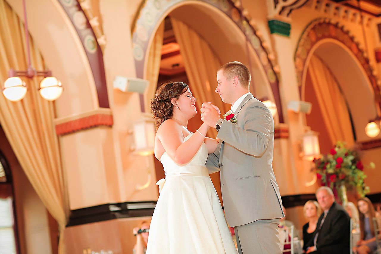 Diana Nick Crowne Plaza Indianapolis Wedding 275