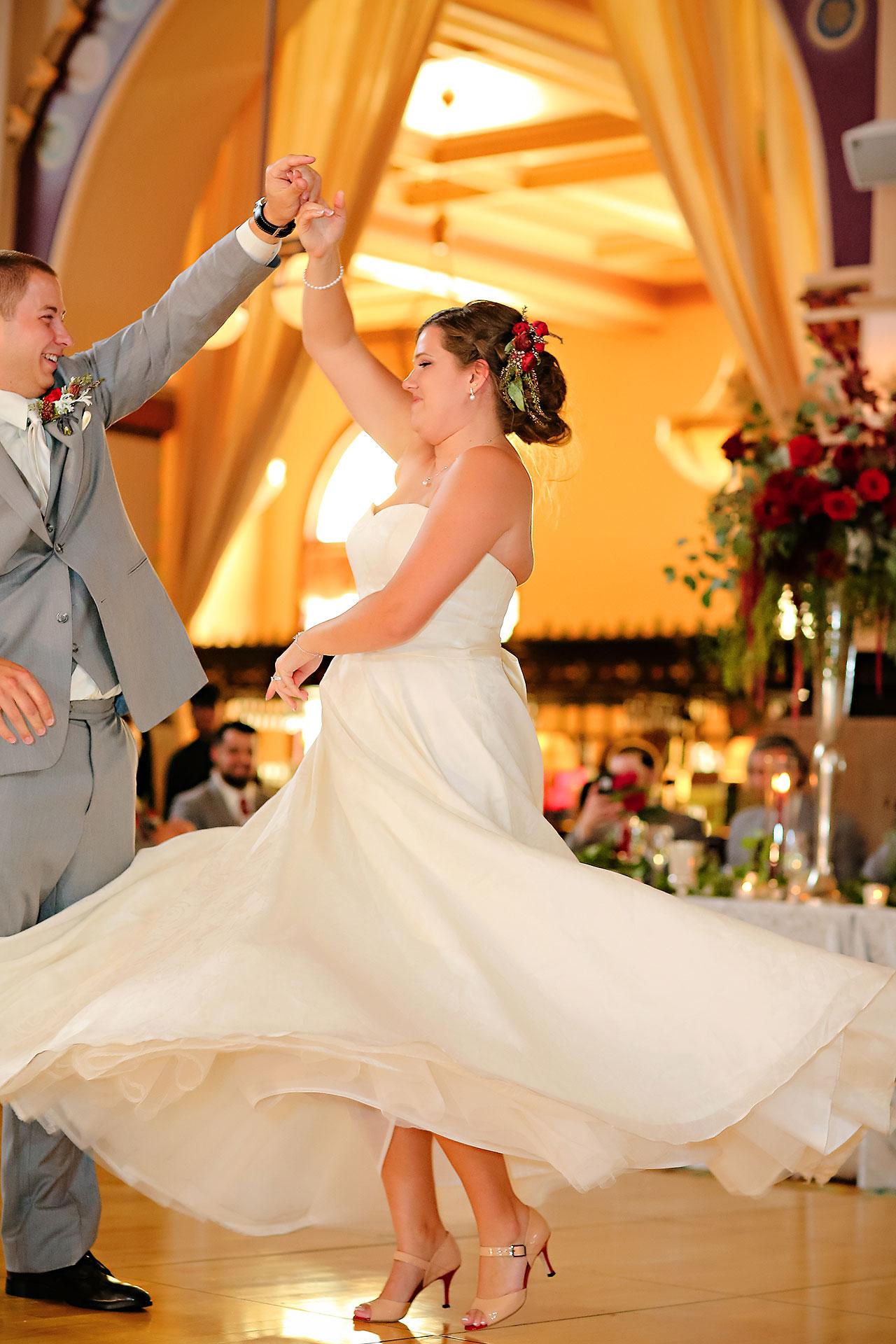 Diana Nick Crowne Plaza Indianapolis Wedding 270