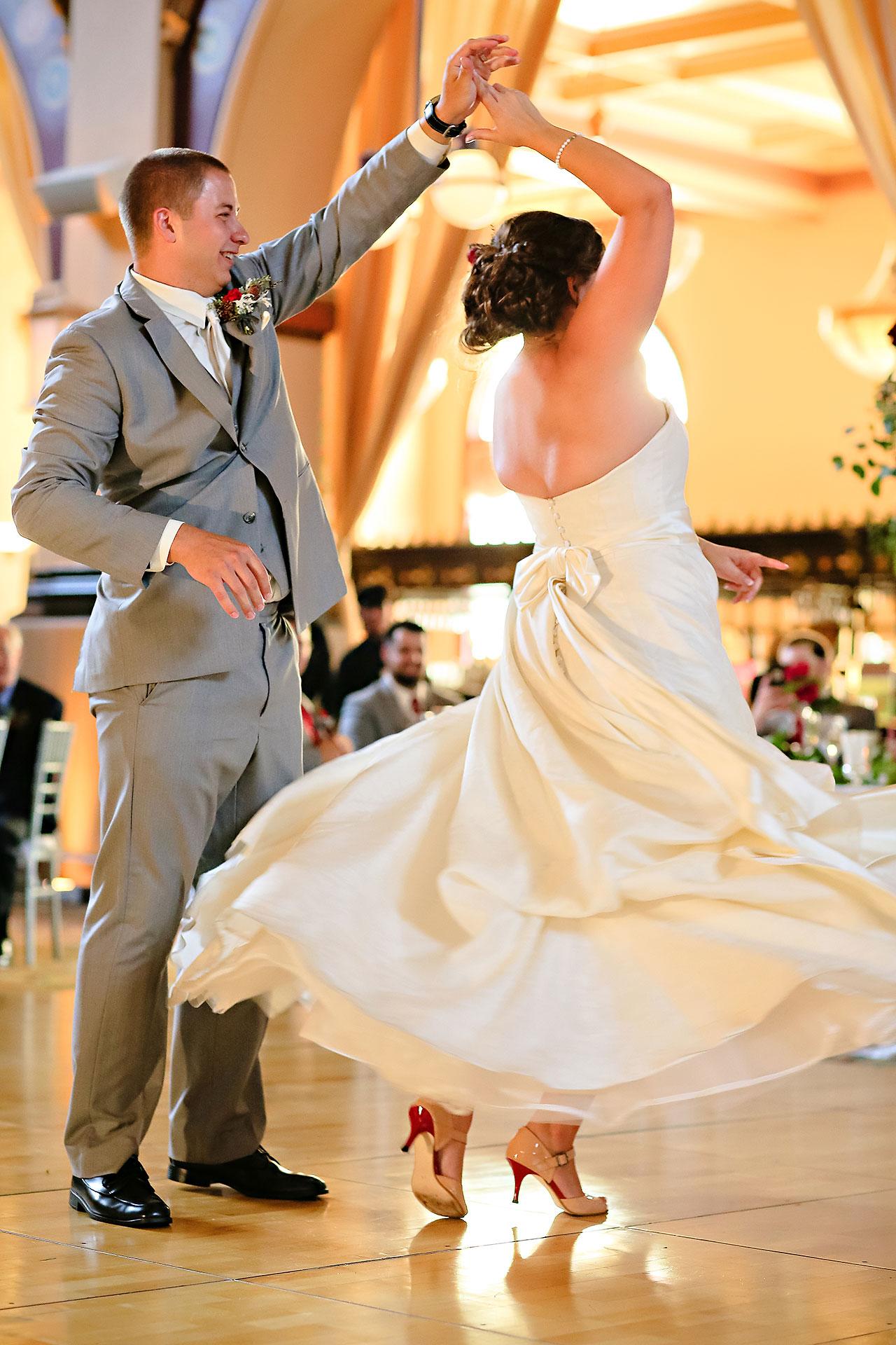 Diana Nick Crowne Plaza Indianapolis Wedding 271