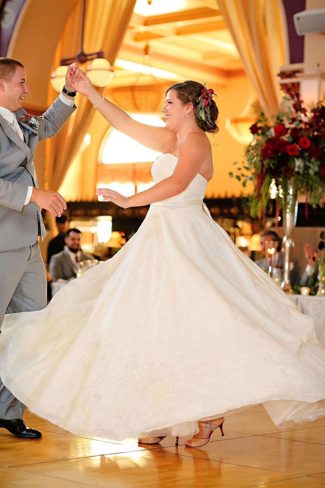 Diana Nick Crowne Plaza Indianapolis Wedding 272