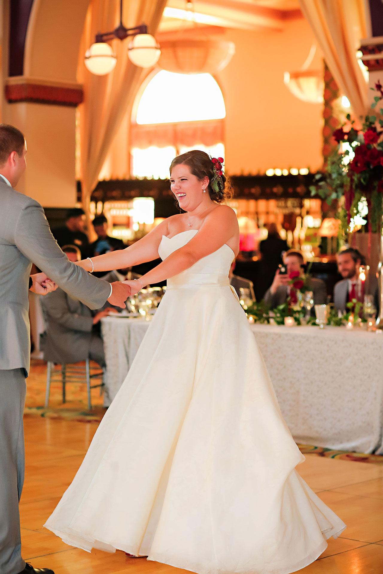 Diana Nick Crowne Plaza Indianapolis Wedding 268