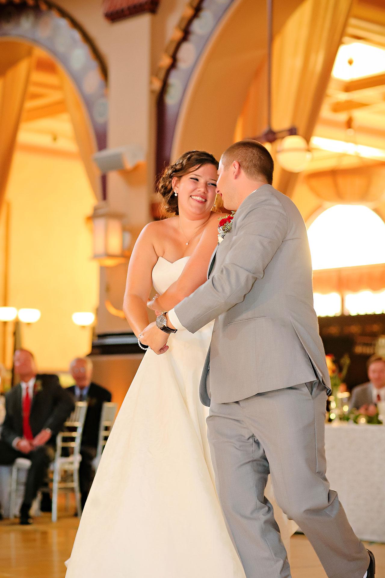 Diana Nick Crowne Plaza Indianapolis Wedding 269