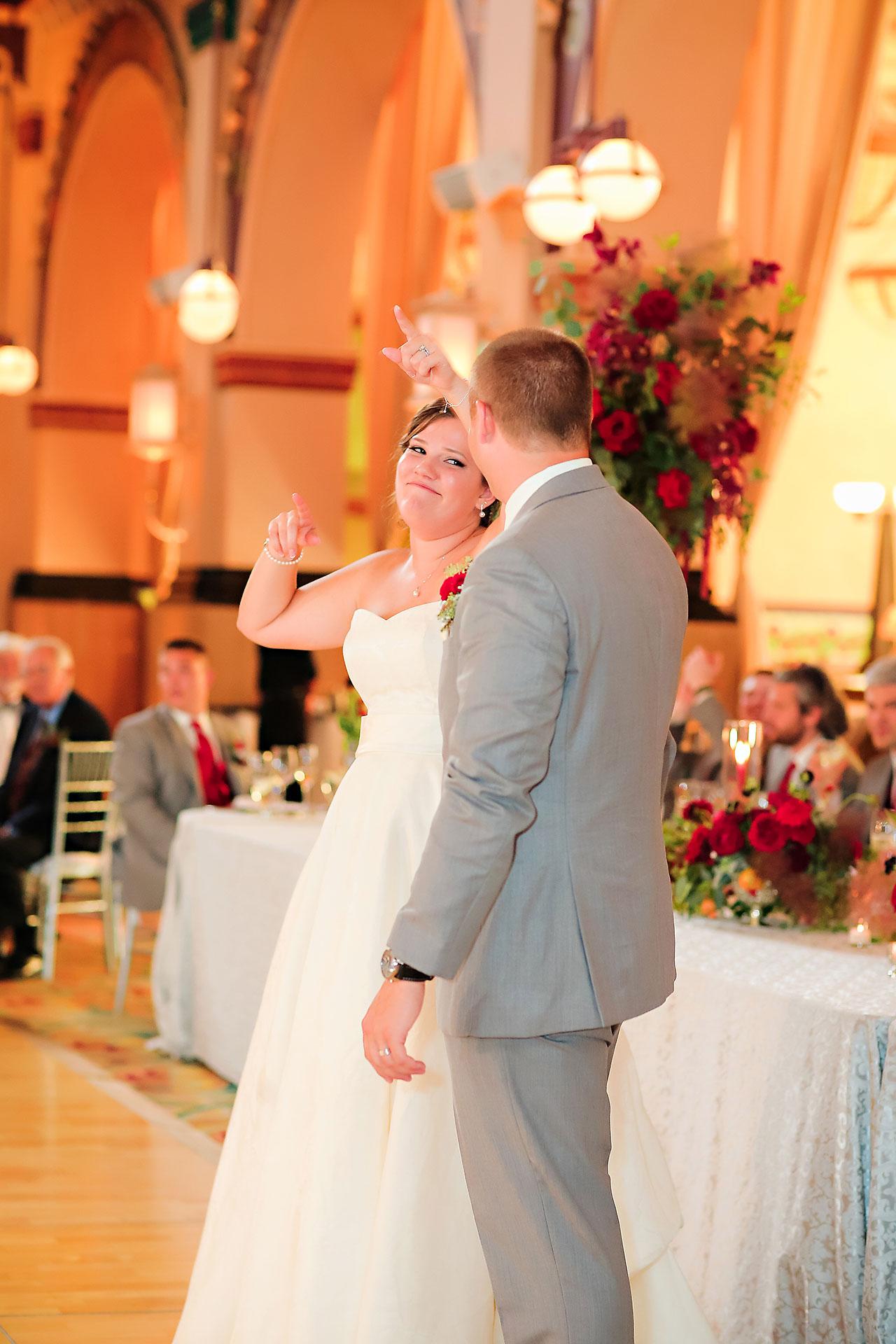 Diana Nick Crowne Plaza Indianapolis Wedding 266