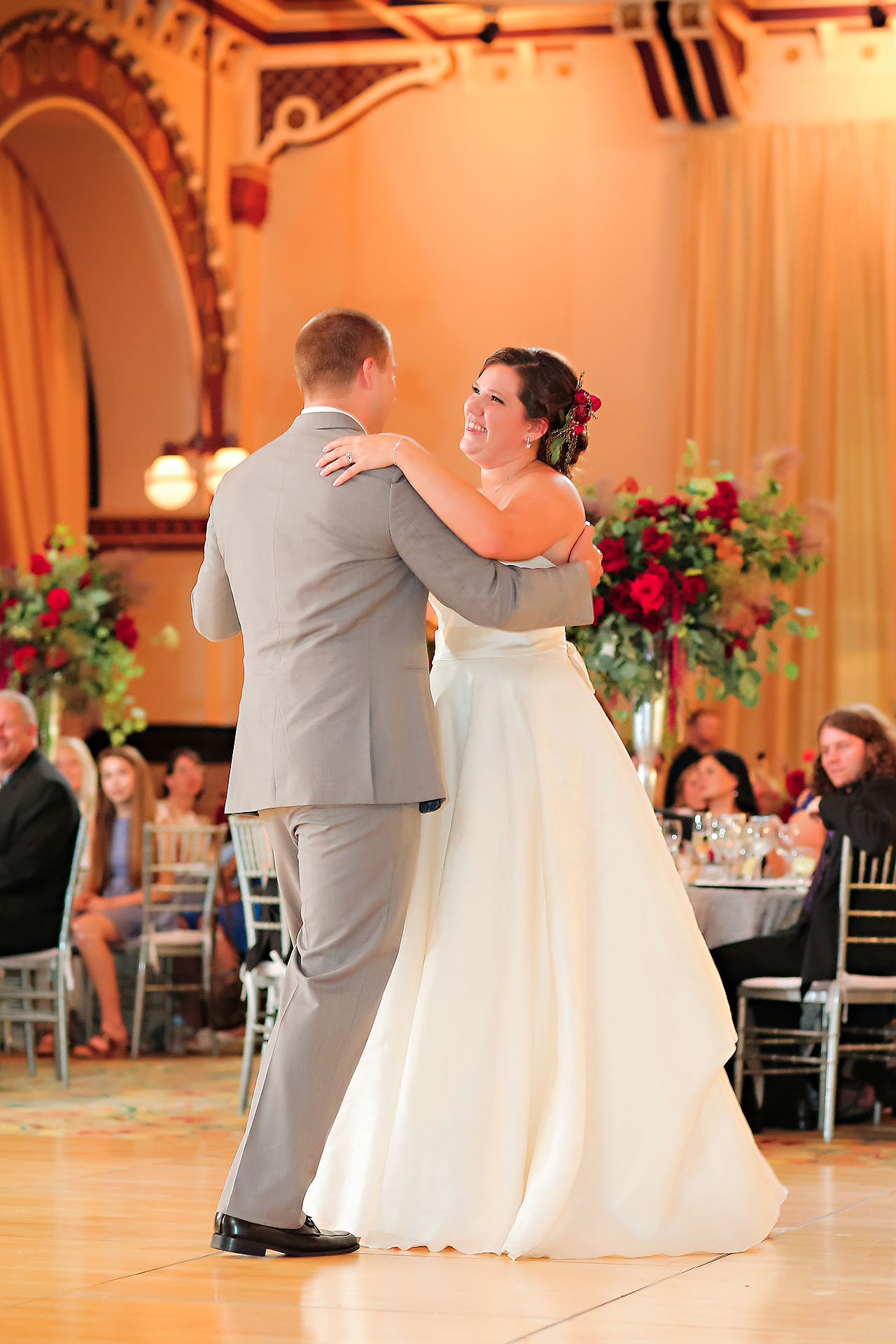 Diana Nick Crowne Plaza Indianapolis Wedding 267