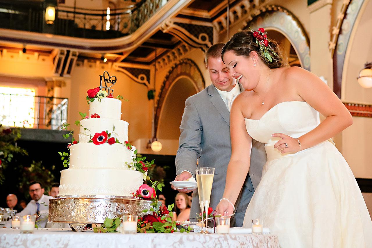Diana Nick Crowne Plaza Indianapolis Wedding 264