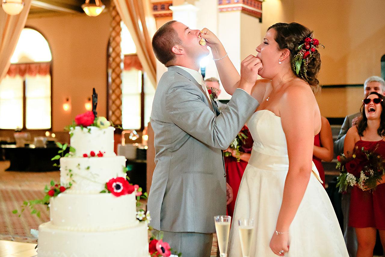 Diana Nick Crowne Plaza Indianapolis Wedding 265