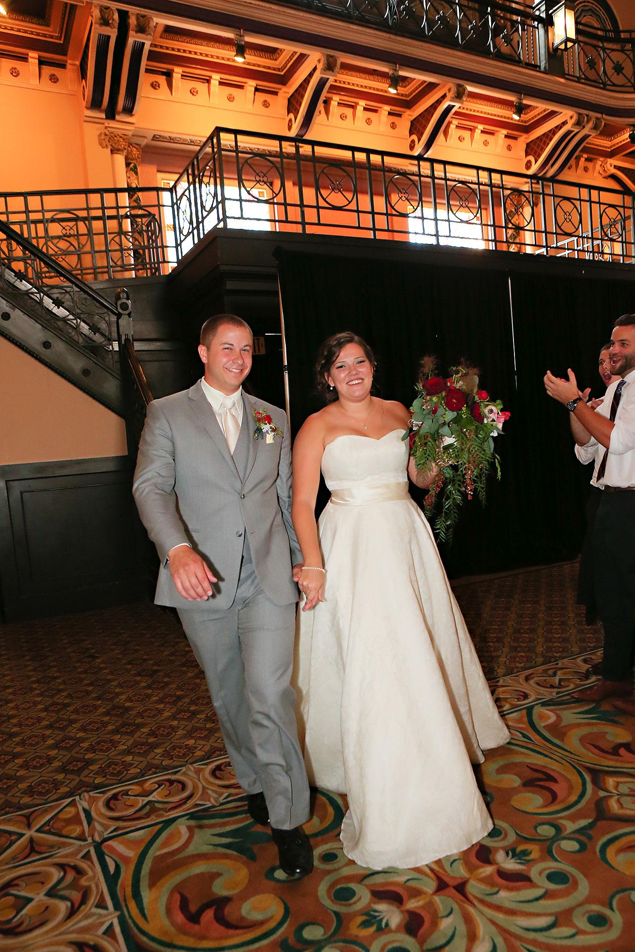 Diana Nick Crowne Plaza Indianapolis Wedding 262