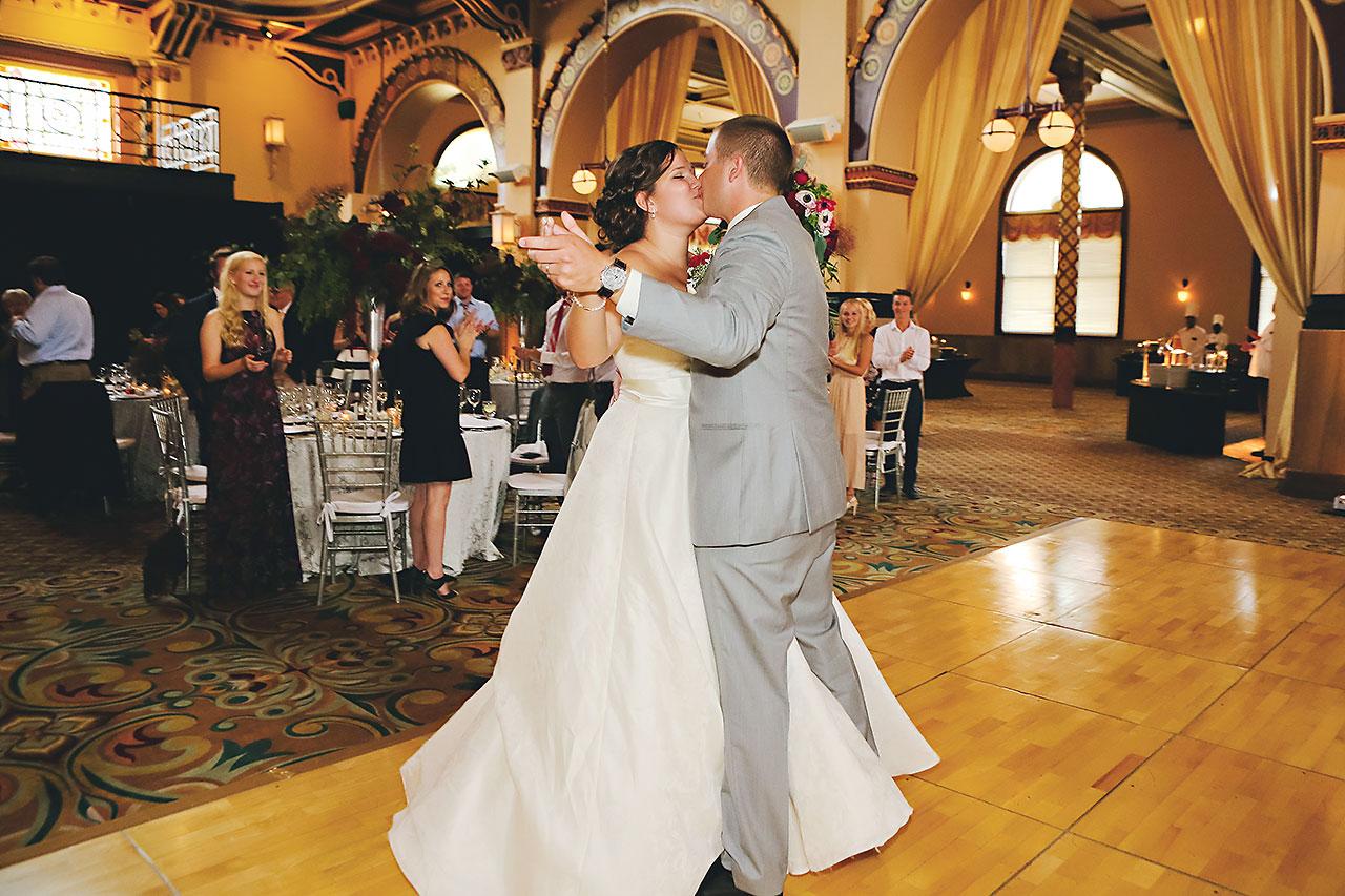 Diana Nick Crowne Plaza Indianapolis Wedding 263